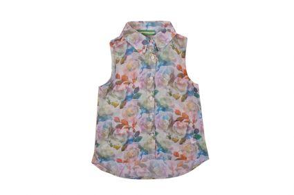 Детска Риза на цветя