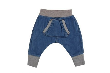 Бебешки Потури дънкови за момче