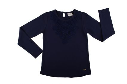 Детска Блуза момиче дълъг ръкав