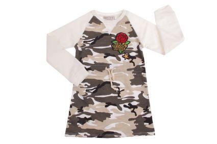Детска Камуфлажна рокля