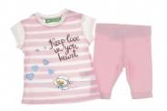 Детски Комплект момиче тениска с клин