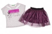 Детски Комплект за момче тениска с пола