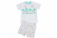 Бебешки Комплект за момче тениска с панталонки