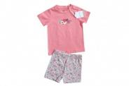 Детски Комплект за момиче тениска с панталонки