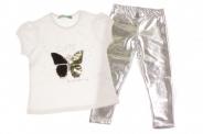 Детски Комплект за момиче тениска с клин