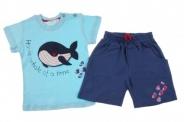 Детски Комплект за момче тениска с панталонки