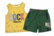 Бебешки Комплект за момче потник с панталонки
