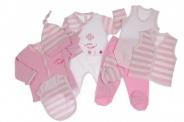 Бебешки Комплект за момиче от 8 части