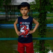 Детски Комплект за момче потник с панталонки
