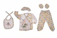 Бебешки Комплект за изписване 5 части момче