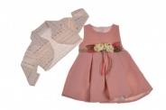 Детска Официална рокля с болеро
