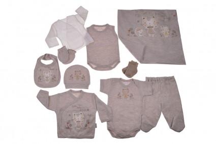 Бебешки Комплект за изписване 10 части момиче Baby