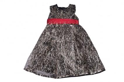Официална рокля къс ръкав