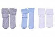 Бебешки Чорапи момче термо 3 броя