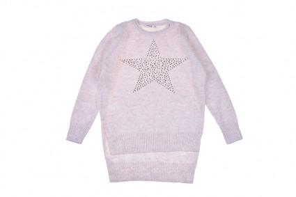 Детска Туника плетиво дълъг ръкав
