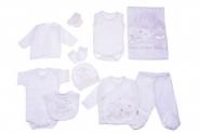 Бебешки Комплект за изписване 10 части момче