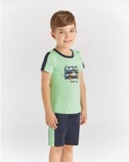 Детска Пижама къс ръкав за момче