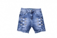 Детски Дънкови панталонки момиче