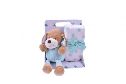 Детска Играчка с одеало в кутия