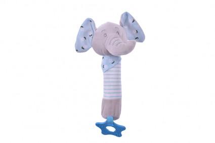 Детска Плюшена дрънкалка
