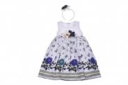 Детска Официална рокля с диадема