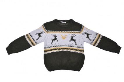 Детски Пуловер момче - Коледа