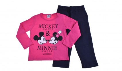 Детски Комплект дълъг ръкав момиче - Mickey and Minnie Mouse
