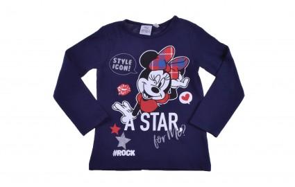 Детска Блуза момиче дълъг ръкав - Minnie Mouse