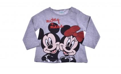 Детска Блуза момиче дълъг ръкав - Mickey and Minnie Mouse