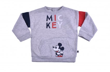Детска Блуза момче дълъг ръкав вата - Mickey Mouse