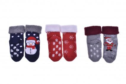 Бебешки Чорапи вата - Коледа