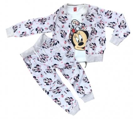 Детски Екип дълъг ръкав момиче 3 части - Minnie Mouse