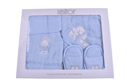 Детски Комплект за баня с халат момче
