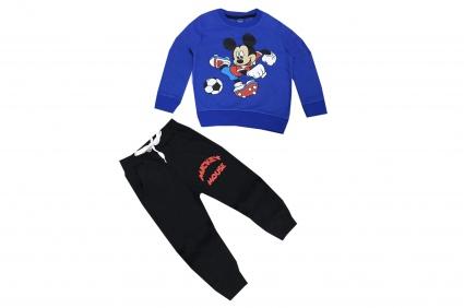 Детски Комплект дълъг ръкав момче вата - Mickey Mouse