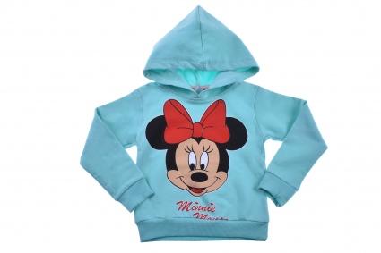 Детска Блуза момиче дълъг ръкав вата - Minnie Mouse