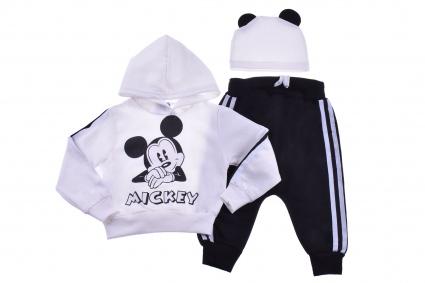 Детски Комплект дълъг ръкав 3 части - Mickey Mouse