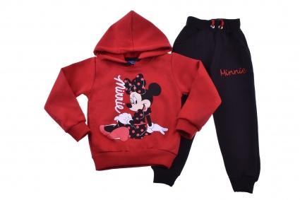 Детски Комплект дълъг ръкав момиче вата - Minnie Mouse