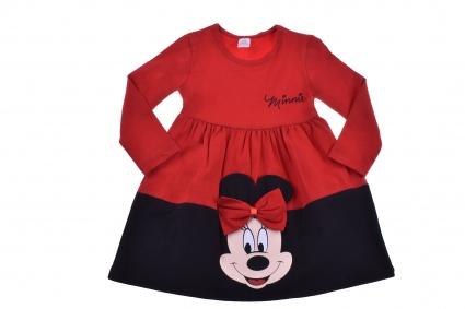 Детска Рокля дълъг ръкав - Minnie Mouse