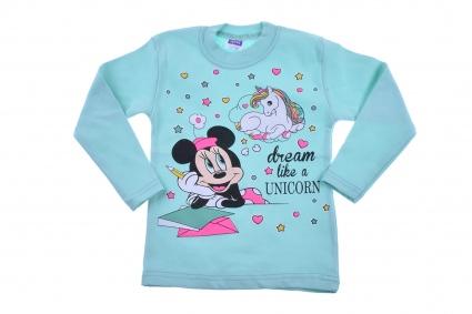 Блуза момиче дълъг ръкав - Minnie Mouse