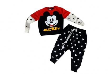 Детски Комплект дълъг ръкав момче - Mickey Mouse
