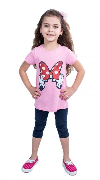 Детски Комплект къс ръкав момиче - Mickey Mouse