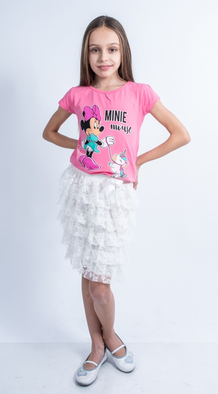Детска Тениска момиче - Mickey Mouse