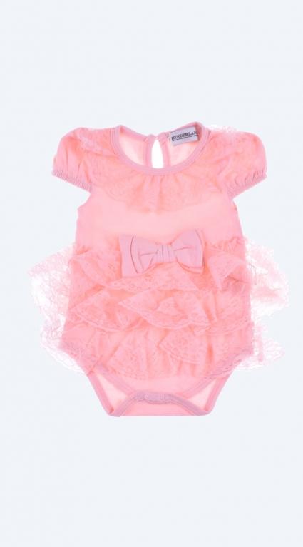 Бебешка Боди-рокля къс ръкав Baby Girl