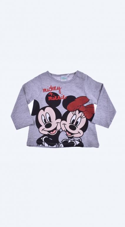 Бебешка Блуза момиче дълъг ръкав - Mickey Mouse