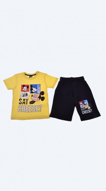Детски Комплект къс ръкав момче - Mickey Mouse