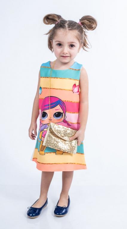 Детска Рокля с чантичка - LOL