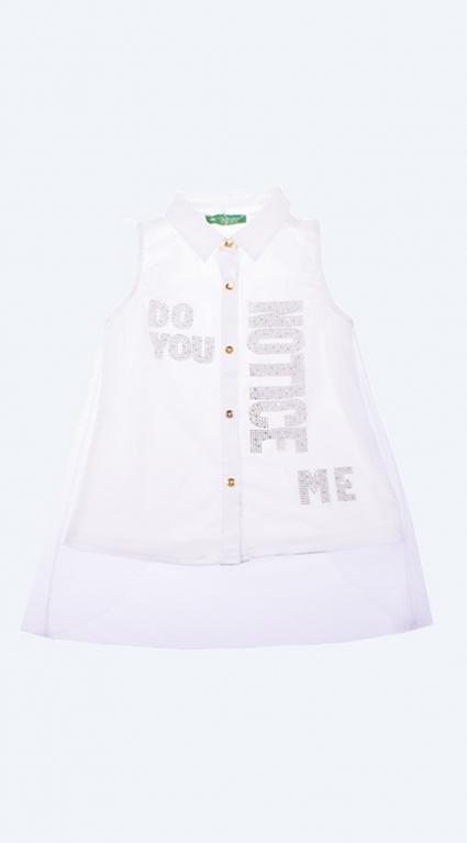 Риза момиче къс ръкав