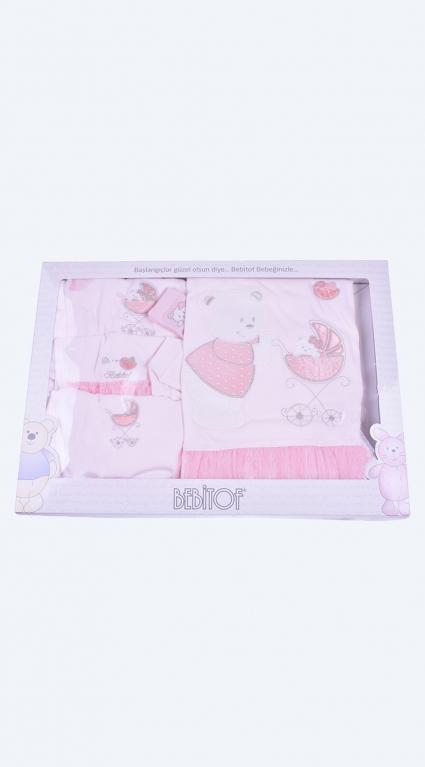 Бебешки Комплект за изписване 10 части момиче Baby Girl