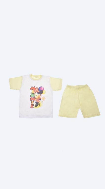 Бебешка Пижама къс ръкав момиче - Mickey Mouse