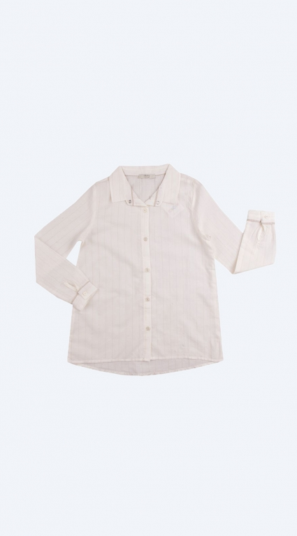 Риза дълъг ръкав момиче